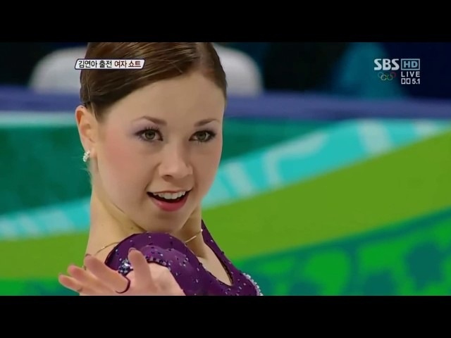 Laura Lepisto (FIN) / Ladies' SP / 2010 Winter Olympics (1080p)