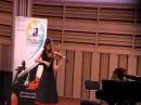 Мария Андреева 14 лет. И.С.Бах — Ларго и Аллегро ассаи из сонаты для скрипки сол ...