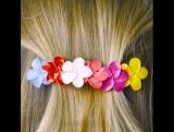 Цветы для волос своими руками. ?
