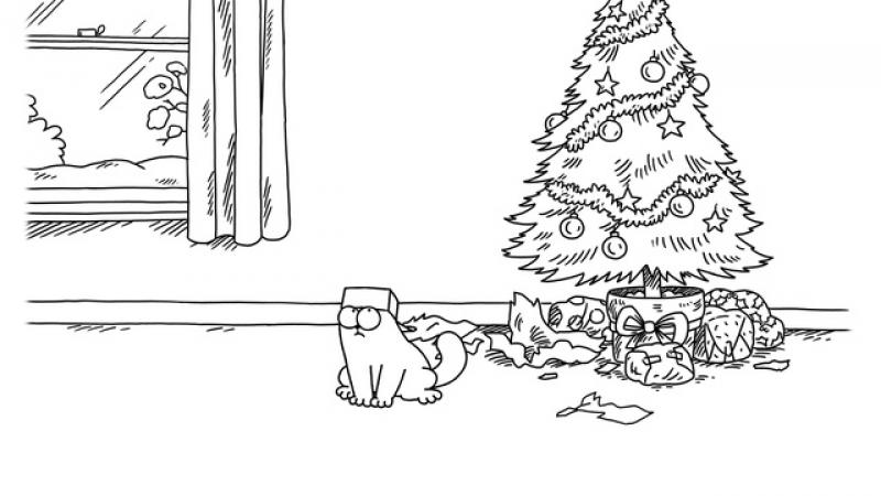 Кот Саймона • Маленькая коробочка