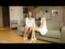 Blooper pervy uncle rolf with gina gerson Julie skyhigh in minidress C louboutin so kate 12cm