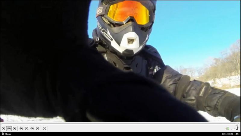 Хулиганство на льду озер Минного Городка. Владивосток. Enduro. KLX250. Я :D