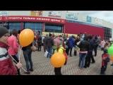 Муравей - детям: раздача шаров как повод поднять настроение :)