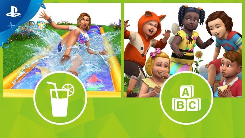 The Sims 4 - Backyard Stuff and Toddler Stuff Trailer | PS4