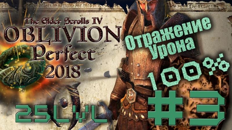 3 Oblivion Perfect. Максимальная сложность. 25lvl 100% отражение урона. Собираем шмот