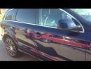 Машина была отполирована и покрыта жидким стеклом.