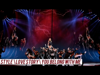 Taylor Swirt - Style\Love Story\You Belong With Me (Live Reputation Tour) DVD