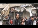 Сирия. Первые минуты после освобождения от бармалеев города Айн-Терма в Восточно.mp4