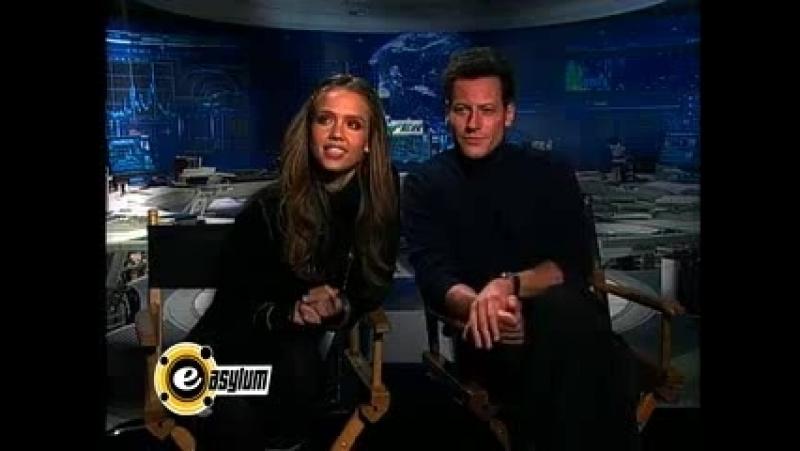 Ioan Gruffudd and Jessica Alba E-Asylum Interview