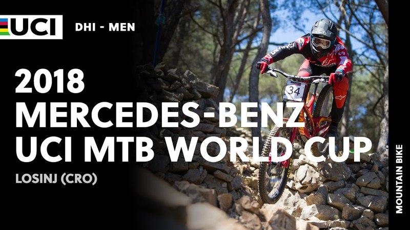 2018 Mercedes-Benz UCI Mountain bike World Cup - Losinj (CRO) Men DHI