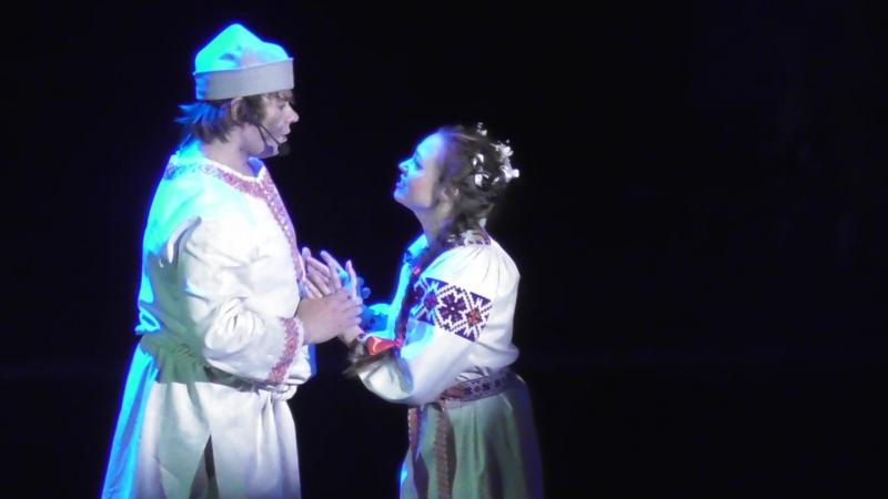 Дуэт Андрия и Гели из мюзикла Сорочинская ярмарка Илья Макаров и Анна Костарева
