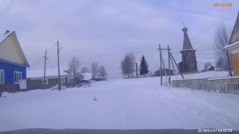 Зимник. Северодвинск - Нёнокса. Февраль 2018г.
