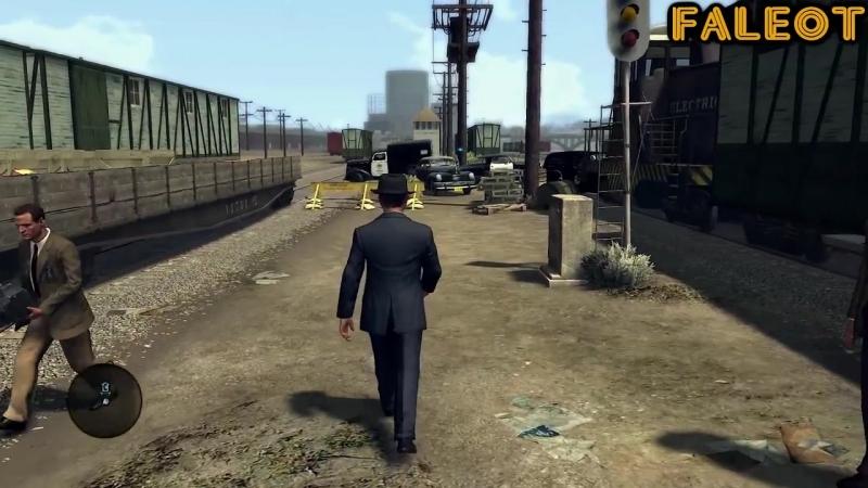 [Faleot] L.A. Noire Прохождение Отдел убийств дело 5 Часть 1