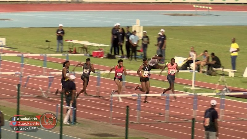 Jarret Eaton wins 110m hurdles at Guadeloupe International Meeting
