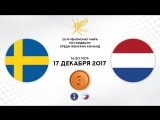 Гандбол. Швеция - Нидерланды. Матч за 3 место. Чемпионат мира 2017. Женщины