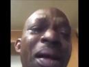 Crying nigga