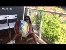 MacVille - Psychedelic Balloon - Blowing and Accidentally Popping a Big Balloon