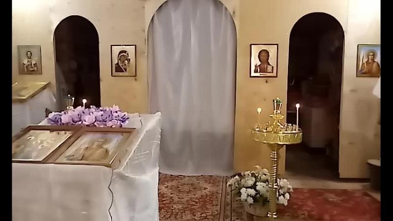 Акафист Архистратигу Божию МИХАИЛУ. 22 января 2018 г.