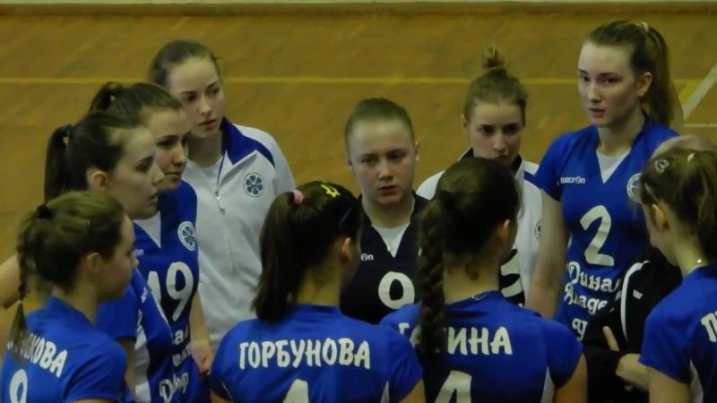 волейбол молодёжка Динамо Казань - Динамо Краснодар ( лучшие моменты )