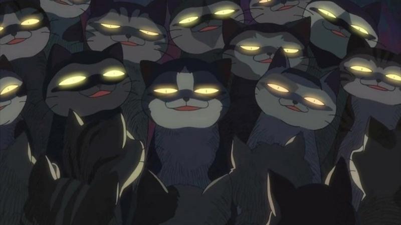 Кошачья сходка 猫の集会 Neko no Shuukai A Gathering of Cats (2007) Макото Синкай (рус.суб)