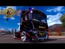 Multiplayer ETS2 №32 DLC - вся Европа А Украина же це Эвропа