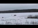 Дрифтинг на озере у деревни Бураково Сезон открыт