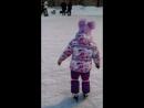 Ритуля второй раз на таких коньках 21.01.18))