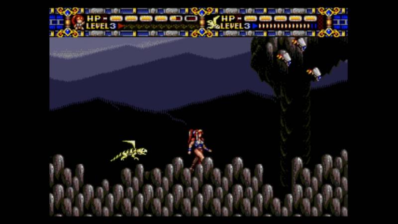 Фёстран Alisia Dragoon (Sega Mega Drive)