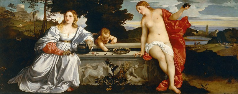 Тициан Вечеллио (1488/1490 — 1576) картины SiVrEk6tqsA