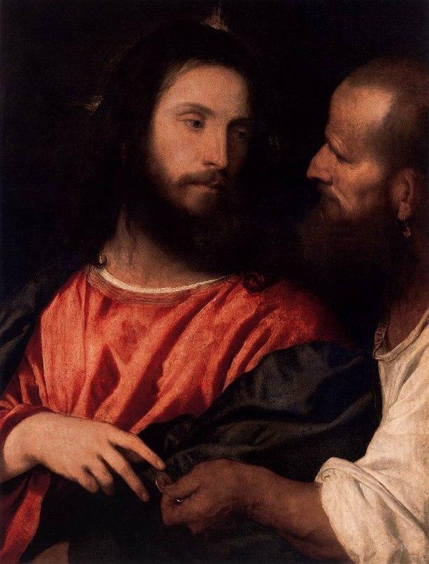 Тициан Вечеллио (1488/1490 — 1576) картины Z1jlJPGVTyM