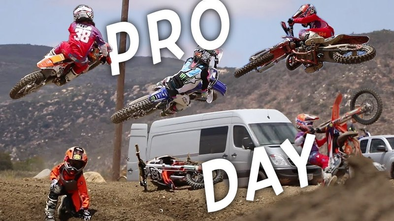 Ride Day at Pala With Roczen, Anderson, Musquin More! Hudson Crashes Again!