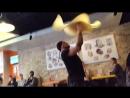 Мастер класс по пицца акробатике от Анатолия Суркова