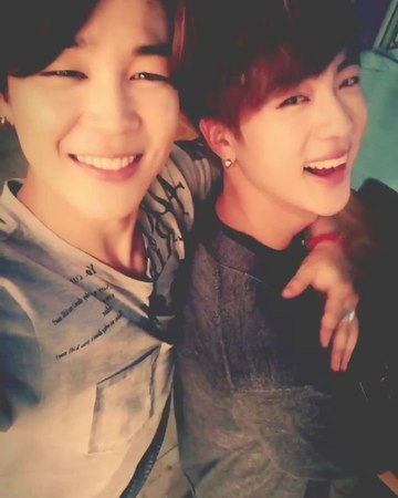 """Jimin's tweets on Instagram: """"150830 봐줄게요JIMINjin [I'll let you go this time JIMINjin] - Video Translations: Jimin: two handsome guy"""""""