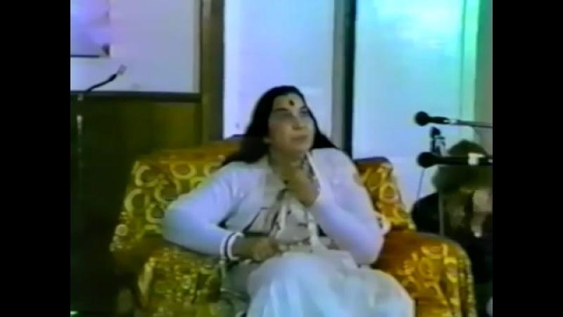 Интервью Шри Матаджи для радио 1 10 1983 г