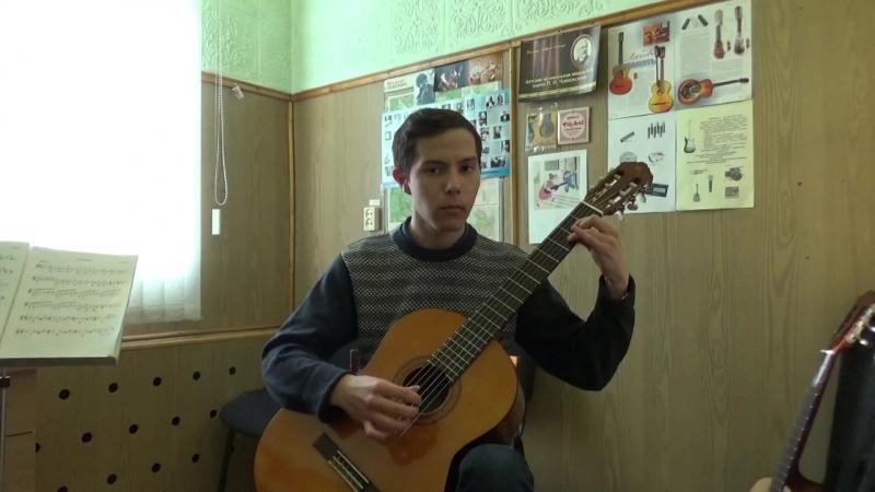 Мелодия (D-dur) И.Ходяков
