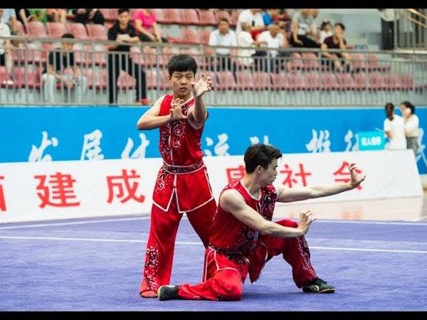 双人南拳 第九名 云南队 张杰 谢成思 8.57分 zhag jie xie cheng si yun nan