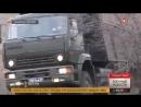 Экстремальные гонки на армейских грузовиках видео с Кавказа