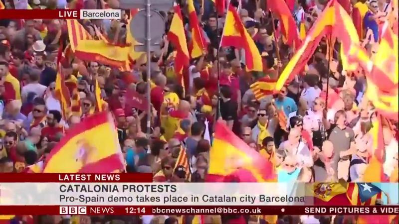 Любое провозглашение Каталонией независимости не будет иметь никаких шансов, предупредил премьер-министр Испании Мариано Рахой