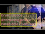 Drum Lesson: Alternating Double Paradiddle Exercises