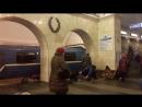 Теракт в Санкт Петербурге 03 04 2017 Видео с самого прибытия поезда