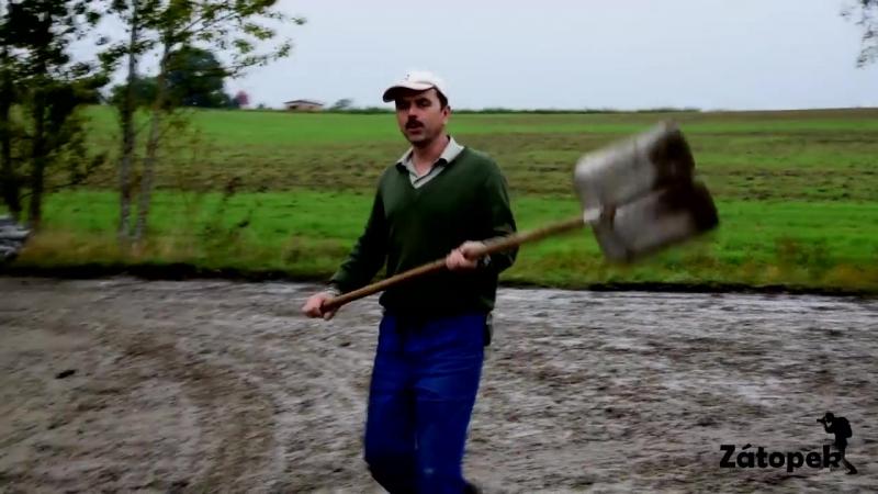 Mokré siláže 2017 - Manipulátor v náhonu - Harvest in mud