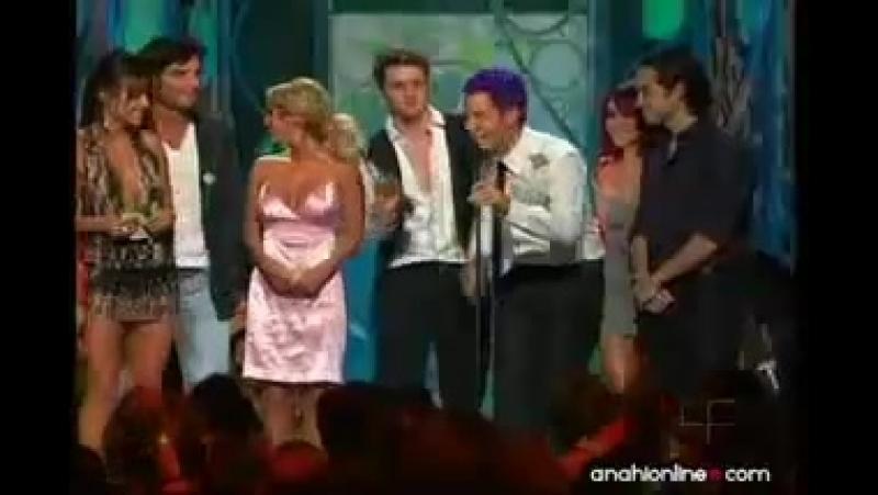 RBD ganan los mas buscados - PJ 2008