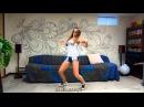 Beautiful Girl dancing Dubstep Lezginka Красивая Девушка Танцует ДАБСТЕП ЛЕЗГИНКУ
