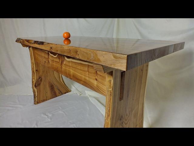 Стол из слэбов с эпоксидной смолой. Подробный мастер-класс. 3 часть