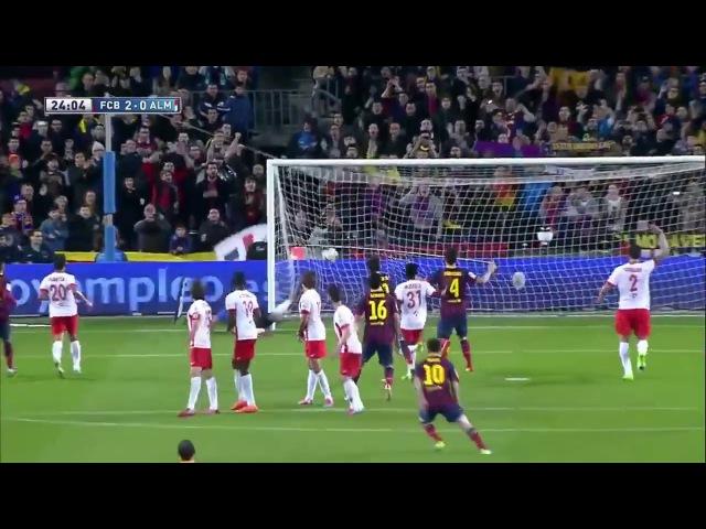 Месси - СУПЕР-ГОЛ у ворота Атлетико Lionel Messi