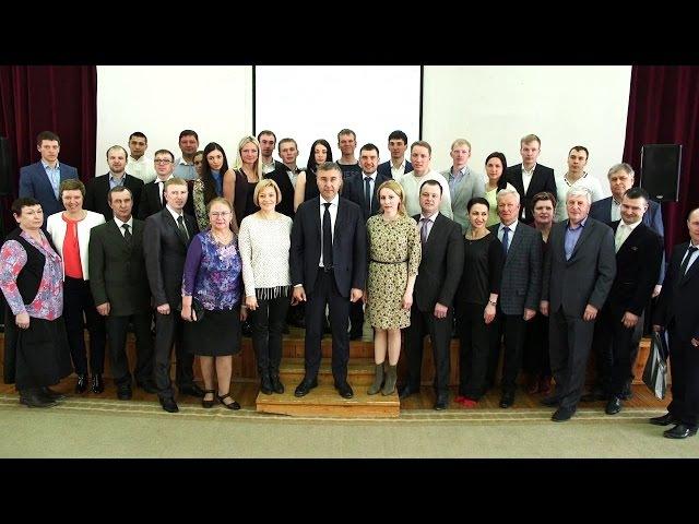 Встреча ректора ТюмГУ Валерия Фалькова с лучшими спортсменами