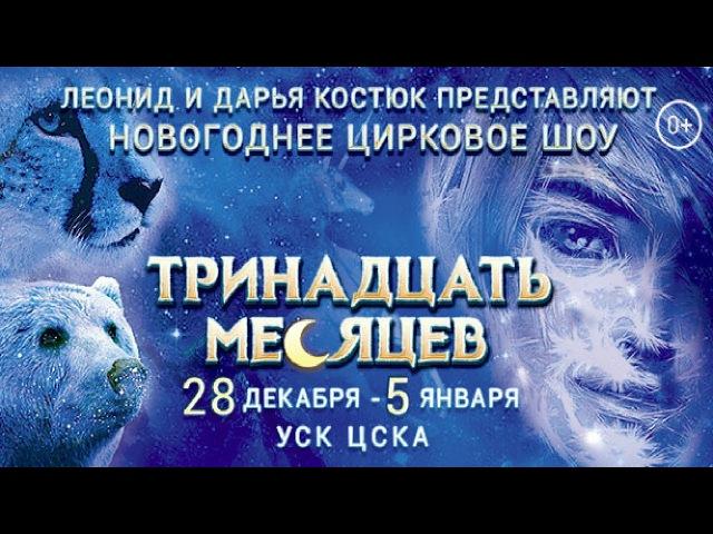 Новогоднее цирковое шоу «Тринадцать месяцев». 1/2 (2018) FHD