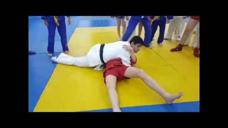 Мастер Класс от Имрана МСМК, чемпион Мира по боевому самбо
