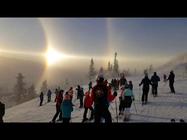 Sun Halo over Sweden