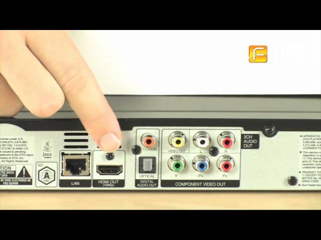 Обзор плеера Blu-ray LG BD-570